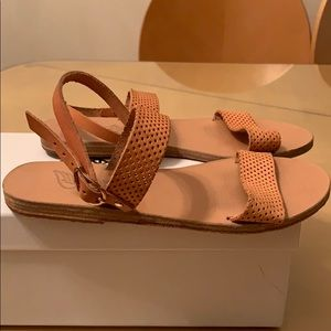 Ancient Greek Sandals Clio Sandal Natural 35